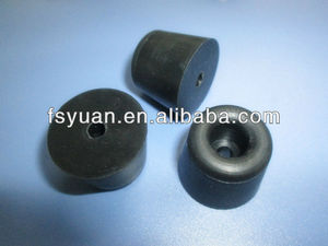 custom made Rubber Feet For Ladders / Different Sized Rubber Feet For Chair / rubber feet for step