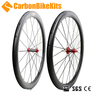 CBK 700c bicycle wheelset 50mm Clincher Road Carbon Wheelset