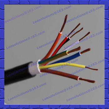 Ul Tuv Listed 8 Core Electric Flexible Wire Rvv Power Cables Types ...