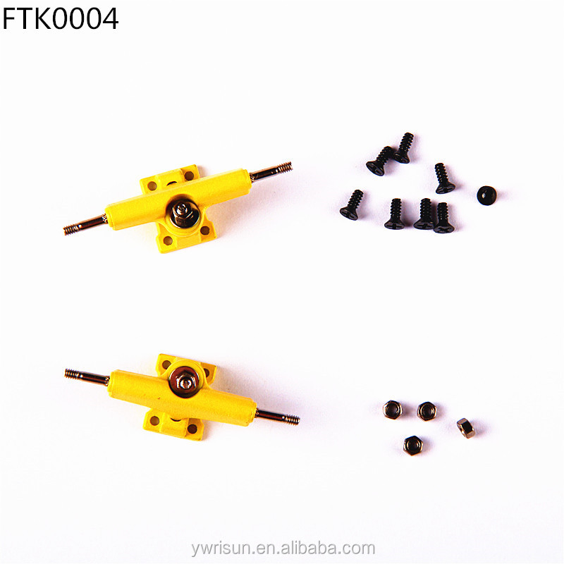 Alibaba.com / FTK0004 Wholesale Yellow 29mm or 32mm Fingerboard Truck