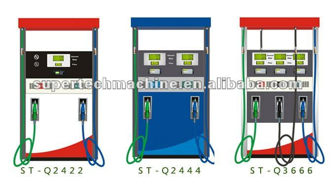 Fuel dispenser for gasoline, Diesel oil. Kerosene