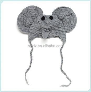 3ad421c84ca Custom cotton crochet beanie hat for children   Newborn baby bonnets    beast hat baby