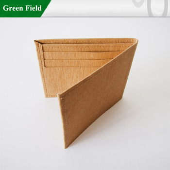 Washable Kraft Paper Business Card Walletmens Washable Kraft Paper