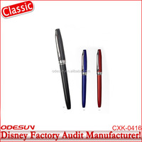 Michaels Sedex FSC Audit and ISO 9001 Factory Audit Manufacturer China supplier metal baoer fountain pen