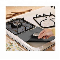 Easily Clean Improved Heavy Duty 0.2 Or 0.3mm Gas Hob Protector Cooking liner For Kitchen Use