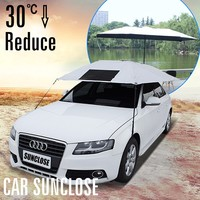 SUNCLOSE Factory fast cover accessories car all weather car cover reviews printed flexible umbrella