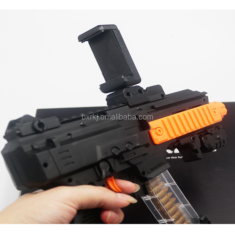 Mobile phone controlled app smart game virtual shooting toy AR <strong>gun</strong>