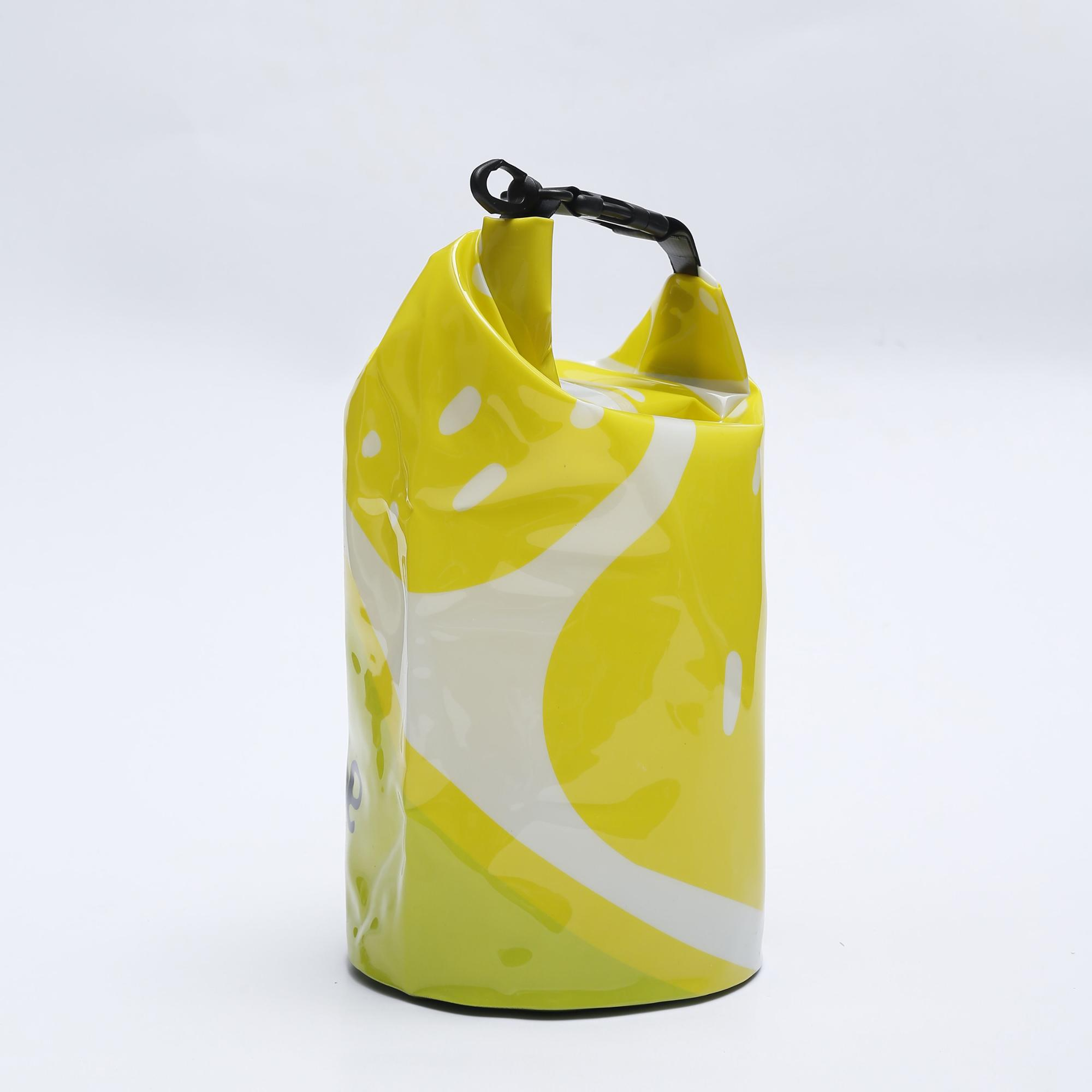 Newest 5L 10L 20L PVC Film Printing Pattern Waterproof Dry Bag For Swimming Drifting