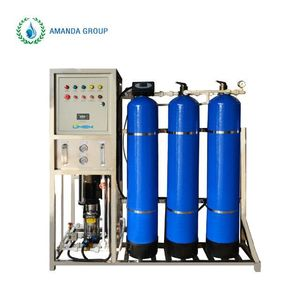500LPH industrial ro water treatment purification filter system