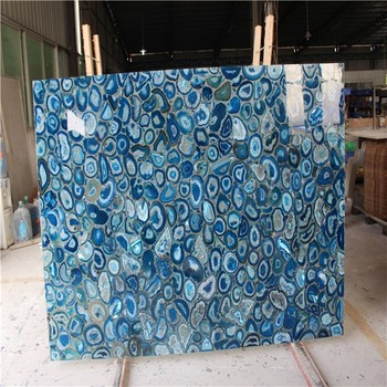 Agate Backlight Tilegemstone Agate Floor Tilenatural Agate Wall - Blue travertine natural stone tiles