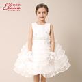 2015 Summer Style 4 10y Kids Toddler Tutu Girls Formal Dresses Lace Flower Girls Dress For