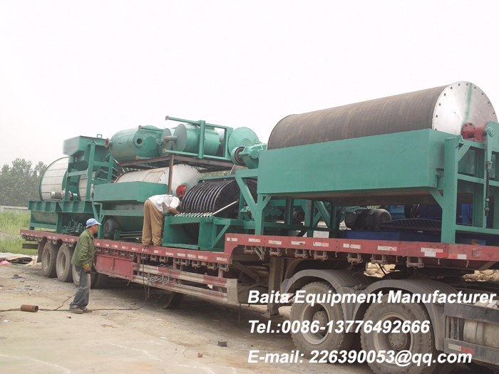 Permanent Magnet Drum Separator-magnetic separator for Mining