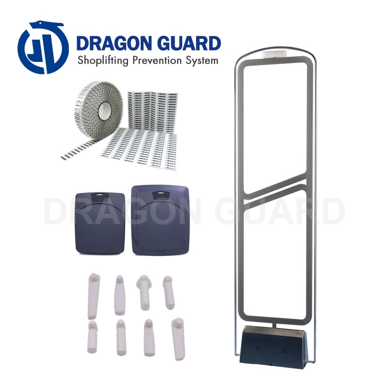 Dragon Guard AS1001 retail security system AM anti theft antennas 58KHz eas system