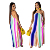 2019 Women summer casual loose plus size stripe printed spaghetti strap wide leg jumpsuit with Pockets