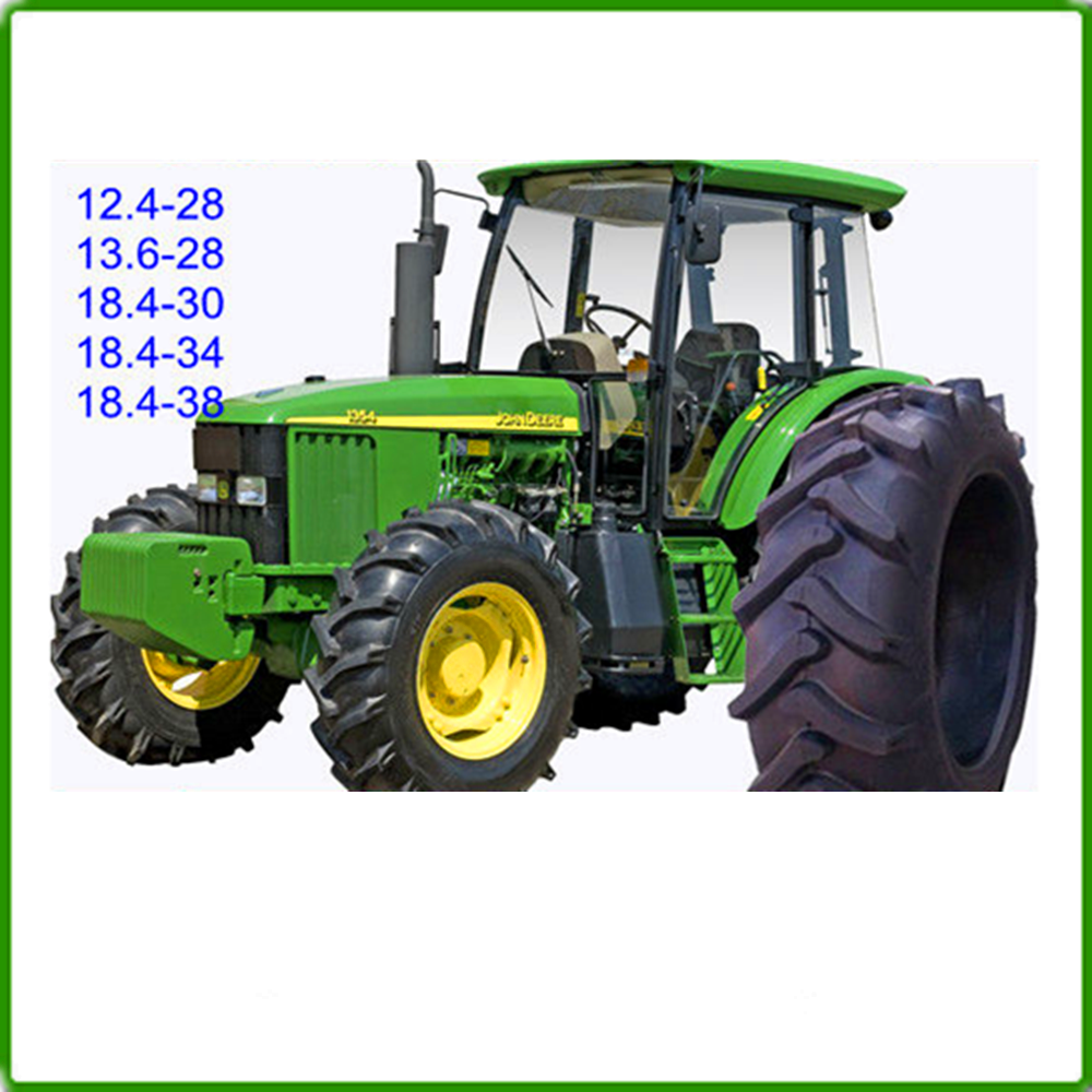 China Supplier Agricultural 16.9-38 Tires Farm Tractor