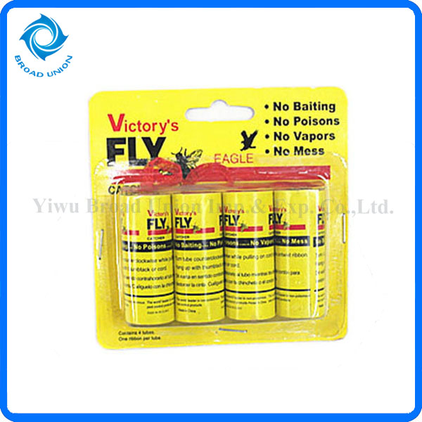 Hot Sale 4PC Fly Glue Catcher Fly Glue Tube