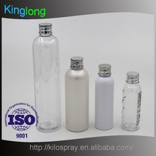 Customer logo luxury cosmetic pet bottles and jars for sale