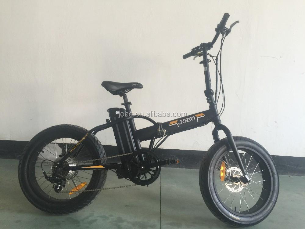 bicicleta fat tire v lo pliant lectrique 36 v 48 v 20. Black Bedroom Furniture Sets. Home Design Ideas