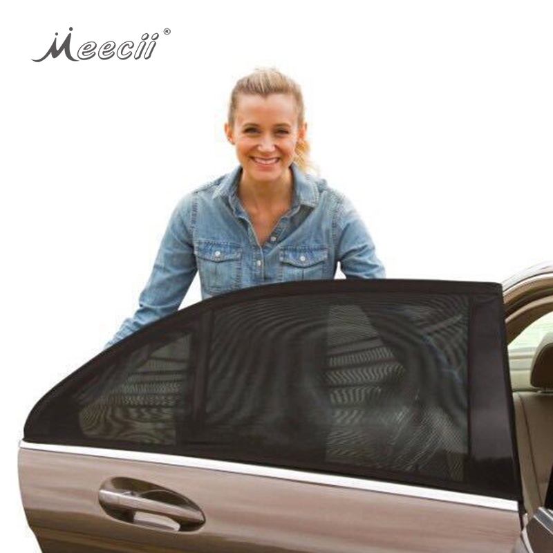 New Arrival Breathable Mesh SunShade Rear Side Window Car <strong>Sun</strong> Shade
