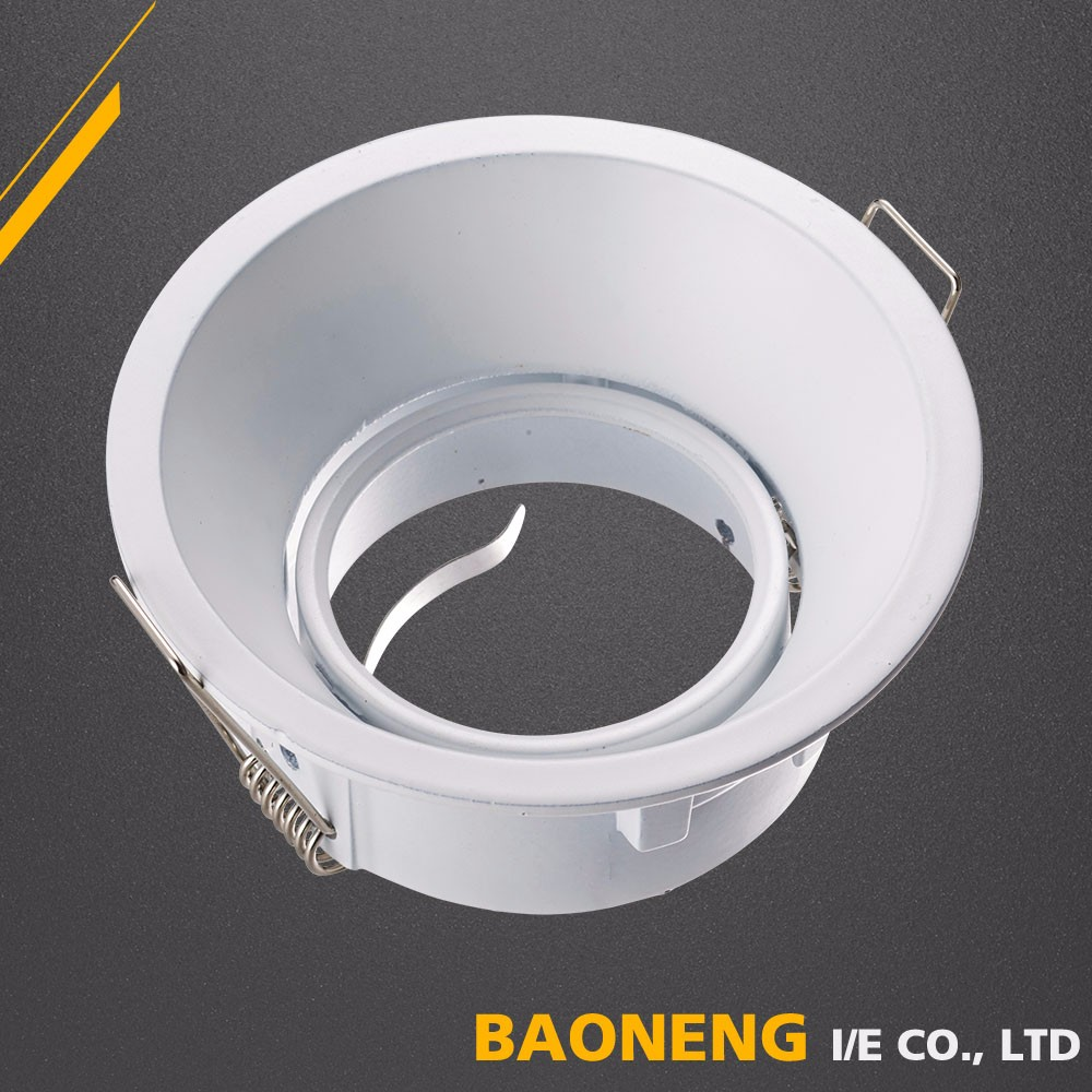 Aluminum die casting led downlight lamp housing