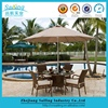 Discount Good Price Metal Folding Outdoor Furniture With Umbrella