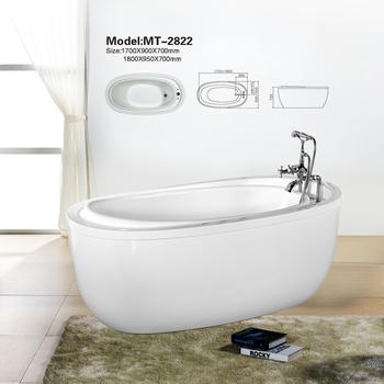 Contemporary Bathroom Luxury 1800mm Oval Large Whirlpool Massage