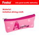Foska Quality diving Cloth Girl Cartoon Novelty Design Zipper School Pencil Bag