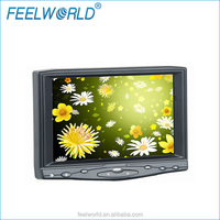 FEEWLORLD 7 inch lcd headrest monitor with VGA AV HDMI input