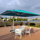 Latest design beer garden umbrella/ hawaii beach outdoor umbrella