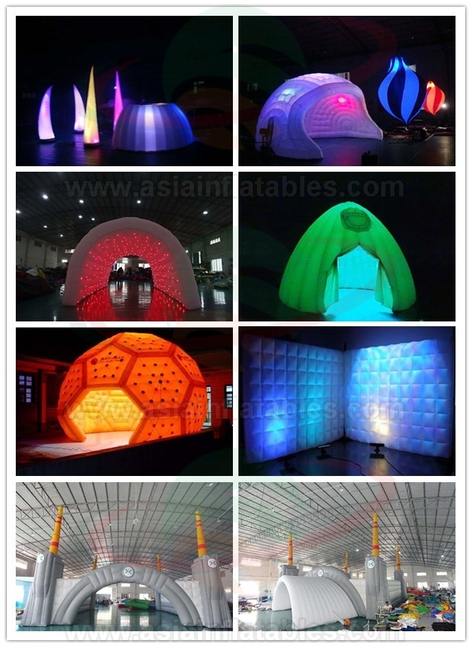 New! Inflatable Concert Hall Made With Blow Up Cubic Tent
