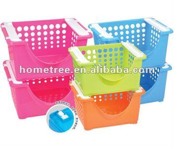 Storage Plastic Stacking Basket