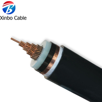 Factory directly supply the high quality 150mm2 copper conductor cable power cable with the XLPE insulation