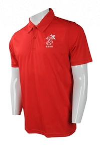 Sport Custom China Plain Golf Breathable Red Polo t shirt