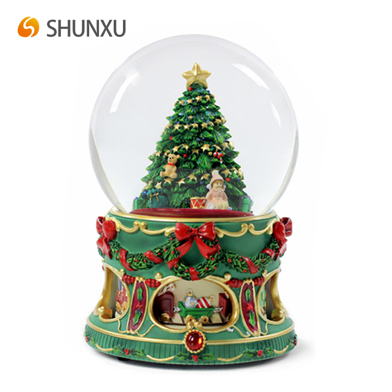 classic christmas theme snow globe christmas tree with xmas style base water globe for souvenir gift buy classic christmas theme snow globechristmas tree - How To Water A Christmas Tree
