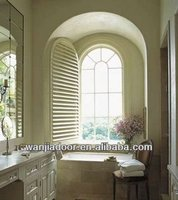 Buy Famous fixed modern pvc arch window in China on Alibaba.com