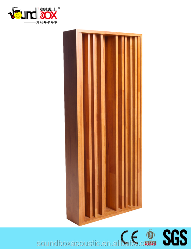 Trending Wooden QRD acoustic sound absorption diffusion wall panel