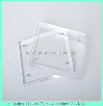 Fertigen Sie Grosse Doppelseitig Rahmenlosen Glasfotorahmen An Buy