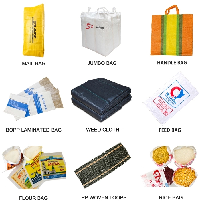 25kg Polypropylene /pp woven bags packing agricultural industrial garbage sand coal terra sacks