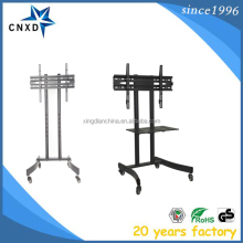 Professional Manufacturer Supplier Trolley Wheels Moving Tv Stand