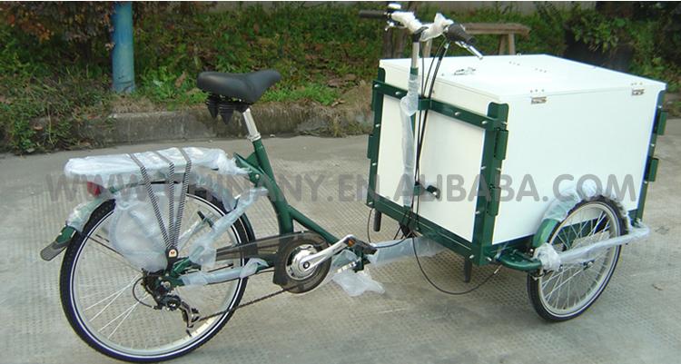 Bike Food Cart Tricycle Ice Cream Cart Ice Cream