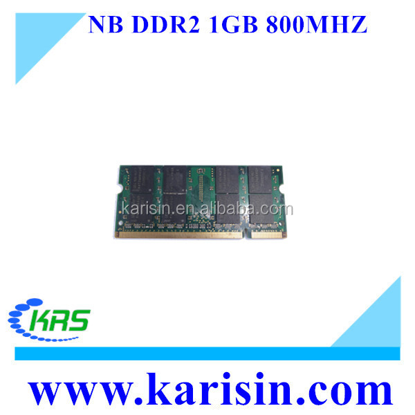 Low density ddr 2 ram 1 gb for laptop 800mhz