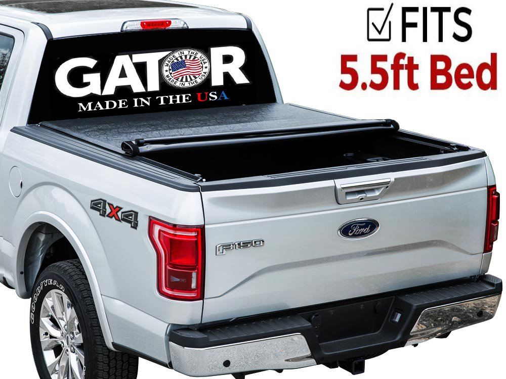 Gator Roll Up Tonneau Truck Bed Cover 2015-2018 Ford F150 5.5 ft Bed