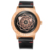 2019 Geometric pattern fashionable leather watch strap for man oem