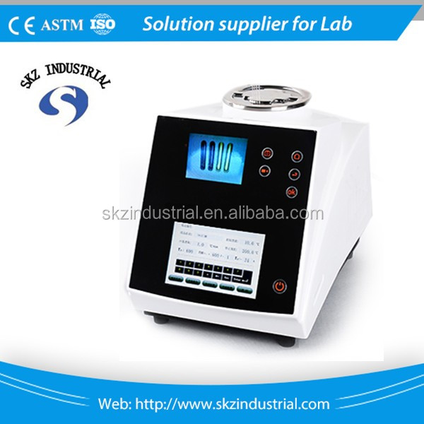 High quality video color samples melting point apparatus