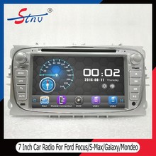 7 Inch Double Din FordFocus Navigation With GPS/DVR/Radio/SWC/BT