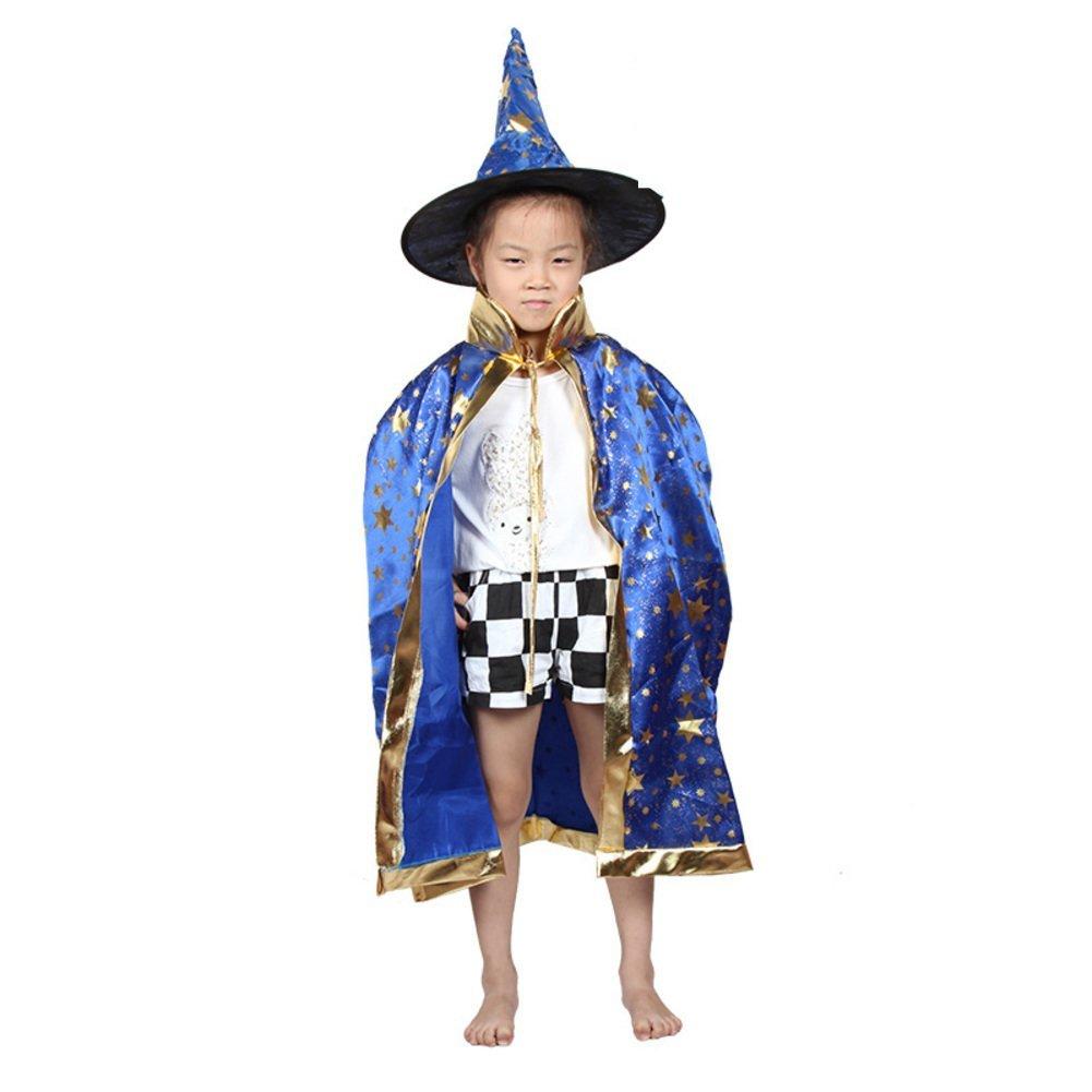 Halloween Cloak/children's clothing/Magician cloak/Child witch/Cloak cloak cap-D