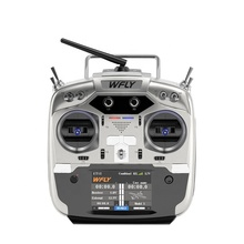 Wfly 2.4GHz RC Radio ET12 dengan Panel Sentuh LCD 12 Channel RC Transmitter dan Receiver