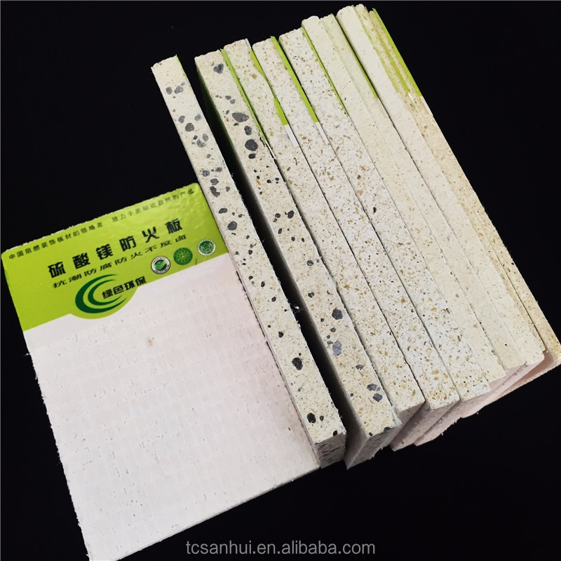 Reasonalble price fireproof material magnesium oxide MgO wall board