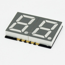 LED smd affichage double 0.56 pouces couleur blanche 2 chiffres <span class=keywords><strong>7</strong></span> segments
