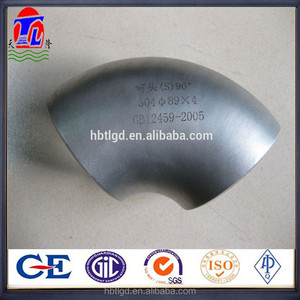 90 degree long radius galvanized steel elbow astm a234wpb carbon steel elbow tee bend reducer cap flange/pipe fittings